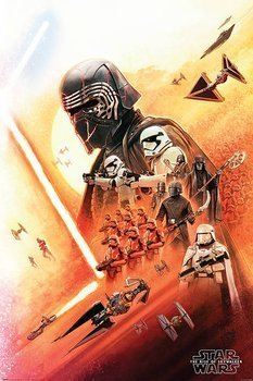 plakat STAR WARS - THE RISE OF SKYWALKER (KYLO REN)