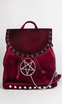 plecak DISTURBIA - WILLOW RED