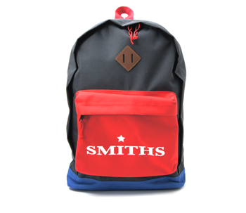 plecak SMITHS, BLACK RED