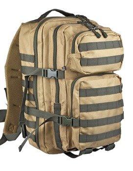 plecak taktyczny US COOPER MULTICOLOR camel-olive, 50 litrów