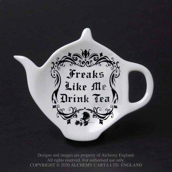 podstawka na torebkę po herbacie/łyżeczkę FREAKS LIKE ME DRINK TEA