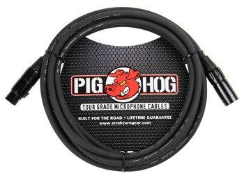 przewód mikrofonowy PIG HOG PHM15 / XLR żeński-męski / 4,5m