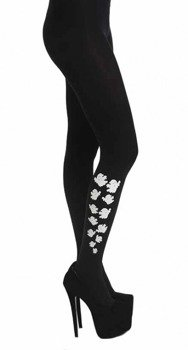 rajstopy ESCAPING GHOSTS TIGHTS czarne