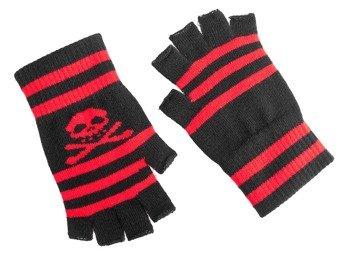 rękawiczki DARKSIDE - SKULL, bez palców