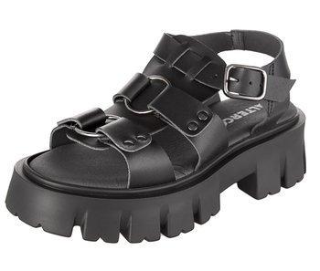 sandały damskie ALTERCORE czarne (SAMANTHA VEGAN BLACK)