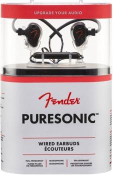 słuchawki przewodowe FENDER PURESONIC PREMIUM WIRED EARBUDS BLACK