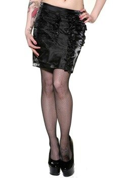 spódniczka mini BLACK ROSES