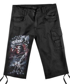 spodnie bojówki 3/4 LIFE AND DEATH CROSS