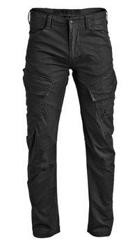 spodnie bojówki ADVEN TROUSERS SLIM FIT black