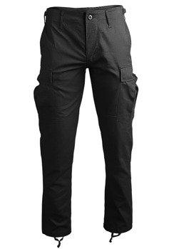 """spodnie bojówki US BDU FELDHOSE R/S """"SLIM FIT"""" BLACK"""