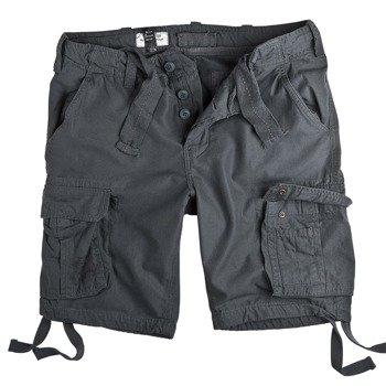 spodnie bojówki krótkie AIRBORNE VINTAGE ANTHRACITE