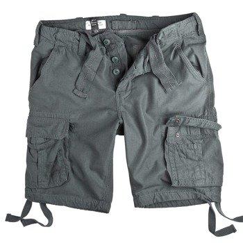spodnie bojówki krótkie AIRBORNE VINTAGE GREY