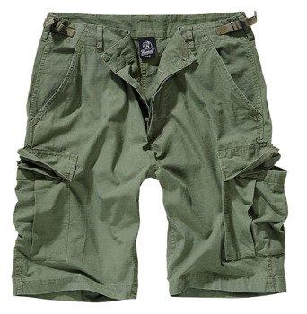 spodnie bojówki krótkie BDU RIPSTOP SHORTS - OLIVE