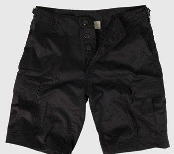 spodnie bojówki krótkie MMB US BDU SHORT SCHWARZ