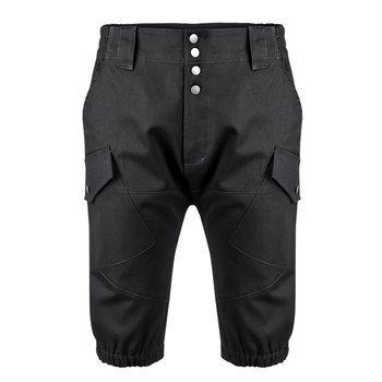 spodnie bojówki krótkie VIKING SHORTS - BLACK