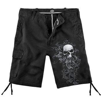 spodnie krótkie SKULL SCROLL vintage