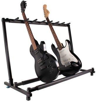 stojak estradowy na 7 gitar GLEAM - do gitar elektrycznych i basowych