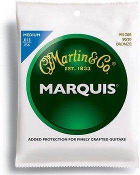 struny do gitary akustycznej MARTIN M1200 - 80/20 BRONZE Medium /013-056/