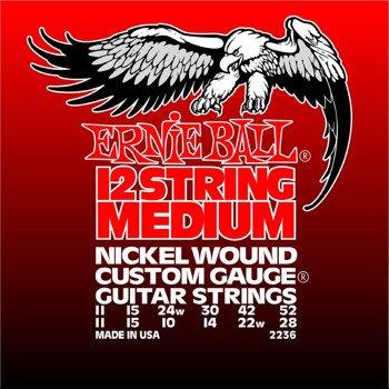struny do gitary elektrycznej 12str. ERNIE BALL Nickel Wound EB2236 /011-052/