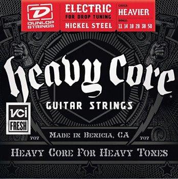 struny do gitary elektrycznej DUNLOP DHCN1150 Heavy Core /011-050/