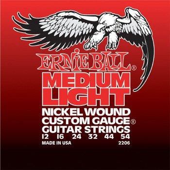 struny do gitary elektrycznej ERNIE BALL Nickel Wound EB2206 /012-054/