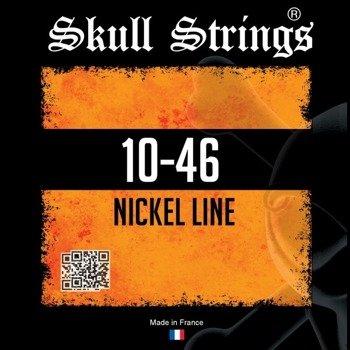 struny do gitary elektrycznej Skull Strings NICKEL Line /010-046/