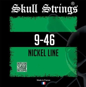 struny do gitary elektrycznej Skull Strings NICKEL Line NST /009-046/