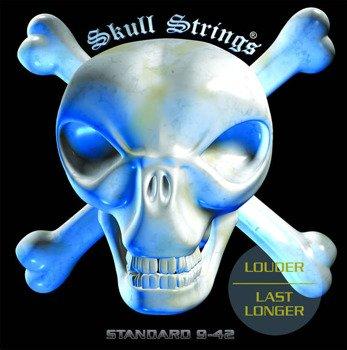 struny do gitary elektrycznej Skull Strings STANDARD Line STD /009-042/