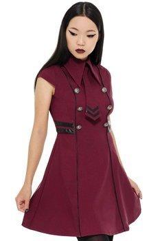 sukienka KILLSTAR - BLACK-OPS (BLOOD)