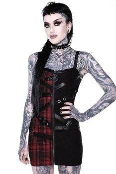 sukienka KILLSTAR - BURY ME (TARTAN)