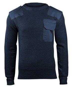 sweter WOJSKOWY BW PULLOVER NAVY