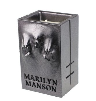 świeca MARILYN MANSON - BLACK METALLIC
