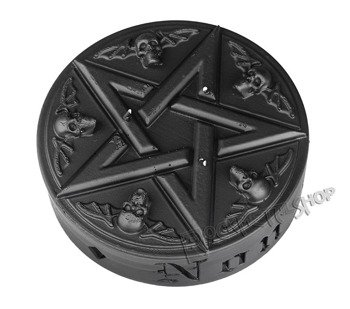 świeca PENTAGRAM BLACK MATT