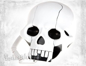 telefon ROCK DADDY - SKULL SHAPE WHITE (92004-003)