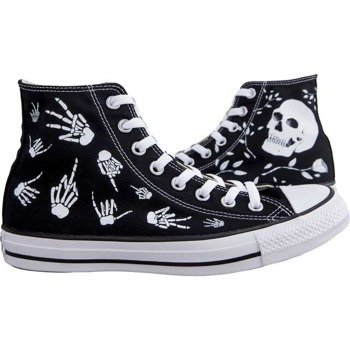 trampki CONVERSE(M9160) - REBEL SKULL BLACK WHITE