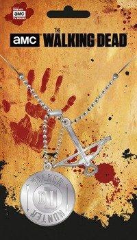 wisior/nieśmiertelnik THE WALKING DEAD - HUNTER PENDANT