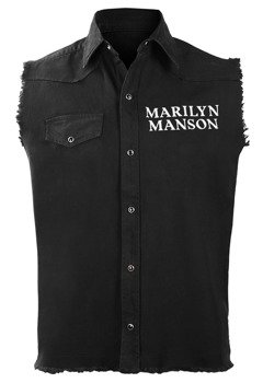 workshirt MARILYN MANSON - CROSS LOGO
