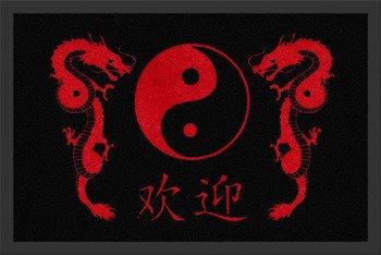 wycieraczka DRAGON YIN YANG
