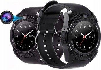 zegarek SMARTWATCH V8 black