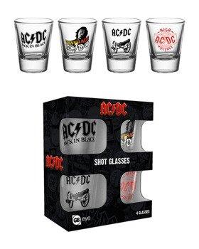 zestaw kieliszków AC/DC