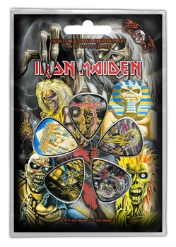 zestaw kostek IRON MAIDEN - EARLY ALBUMS (5 szt)