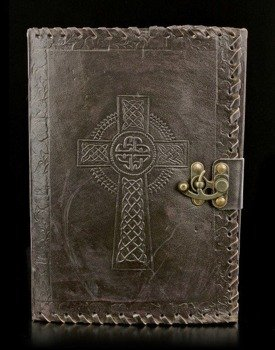 zeszyt CELTIC CROSS LEATHER