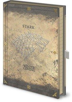 zeszyt GAME OF THRONES - STARK WORN
