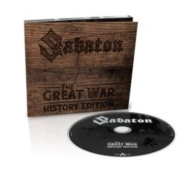 SABATON: THE GREAT WAR (CD) HISTORY EDITION DIGIPACK