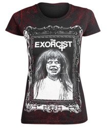 bluzka damska AMENOMEN - THE EXORCIST (OMEN074DA ALLPRINT RED)