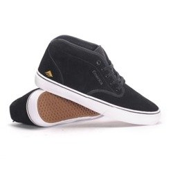 buty EMERICA - WINO G6 MID BLACK WHITE GOLD