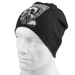 czapka THE EXPLOITED - MOHICAN SKULL, zimowa