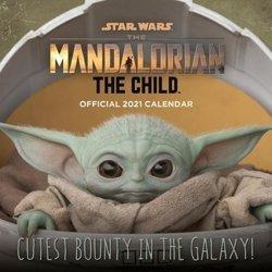 kalendarz STAR WARS THE MANDALORIAN - BABY YODA 2021