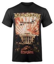 koszulka MEGADETH - CHINA WHITEHOUSE