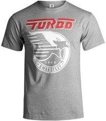 koszulka TURBO - SMAK CISZY grey